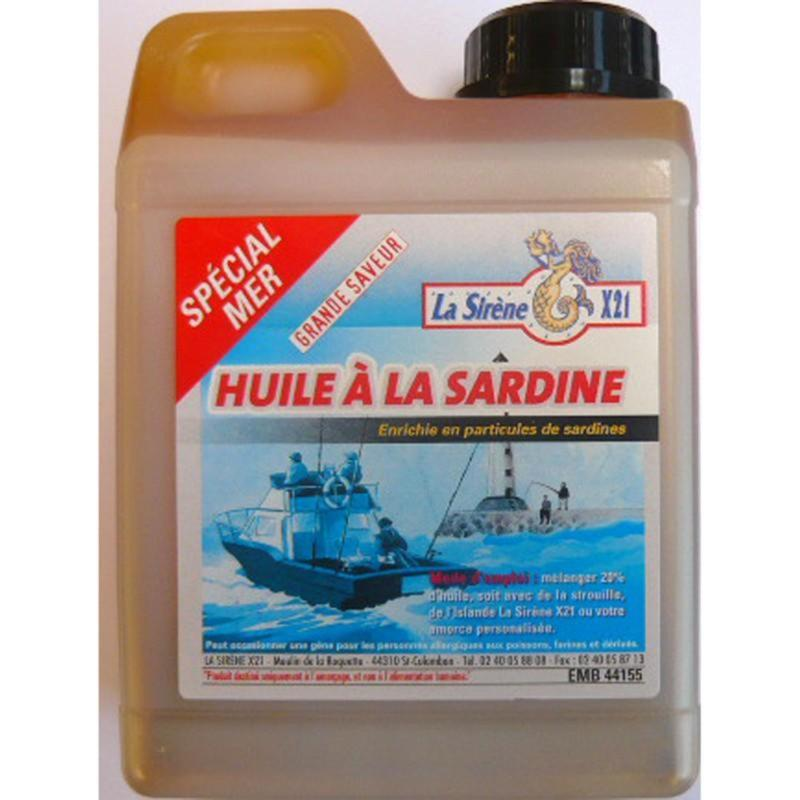 huile de sardine