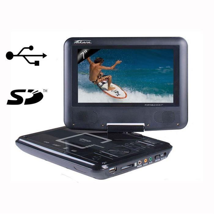 lecteur de dvd portable
