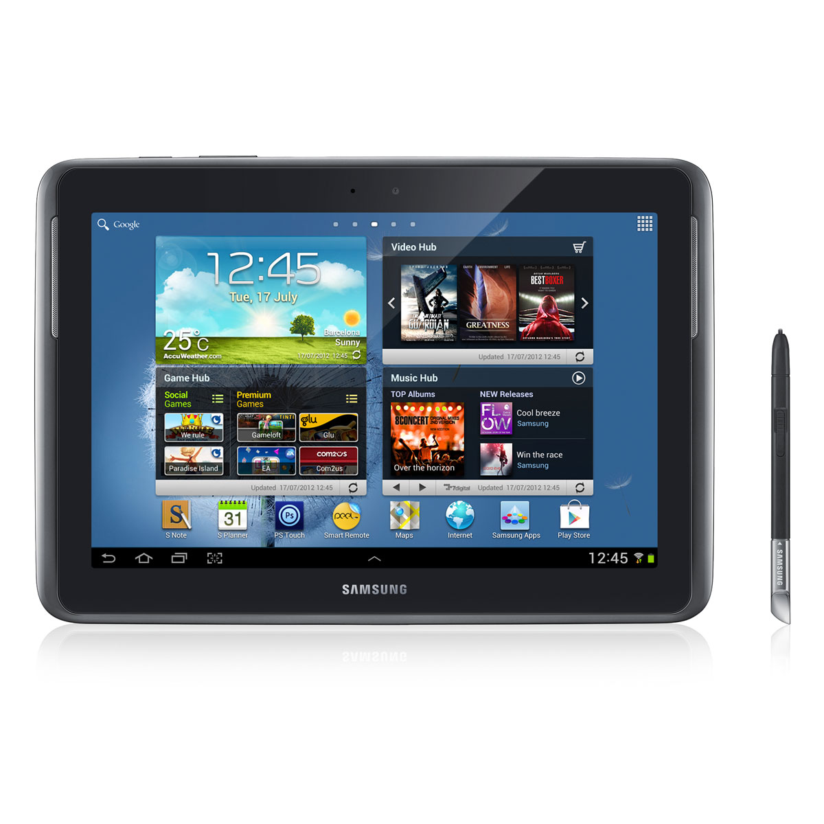 tablette samsung galaxy note 10.1