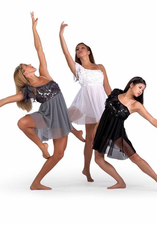 tenue de danse moderne petite fille