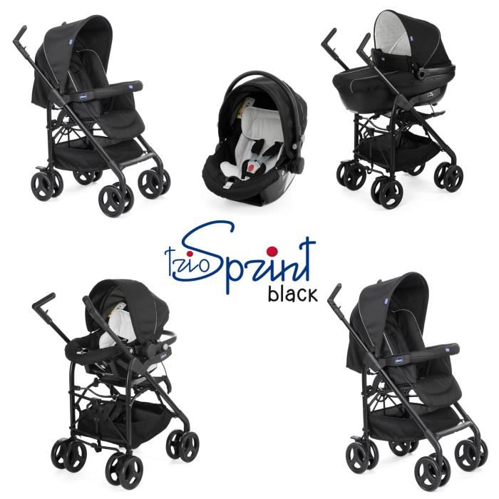 chicco sprint black