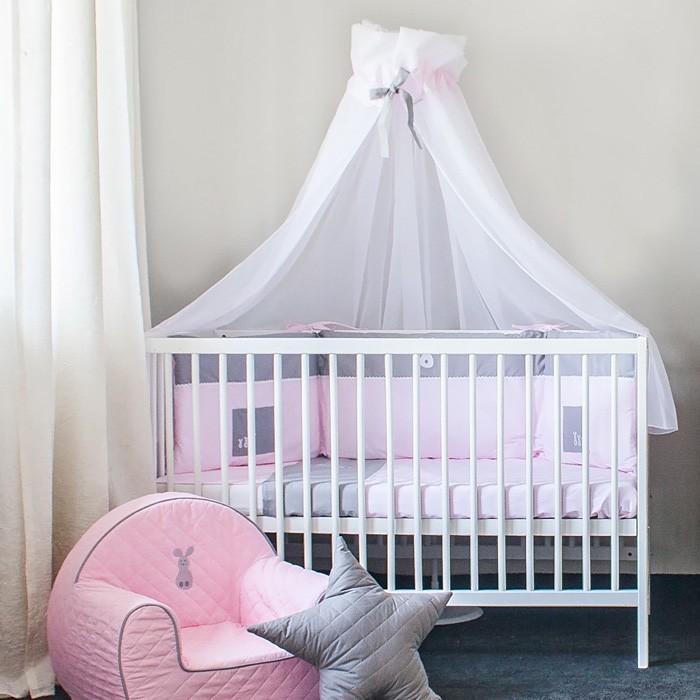 ciel de lit bébé fille