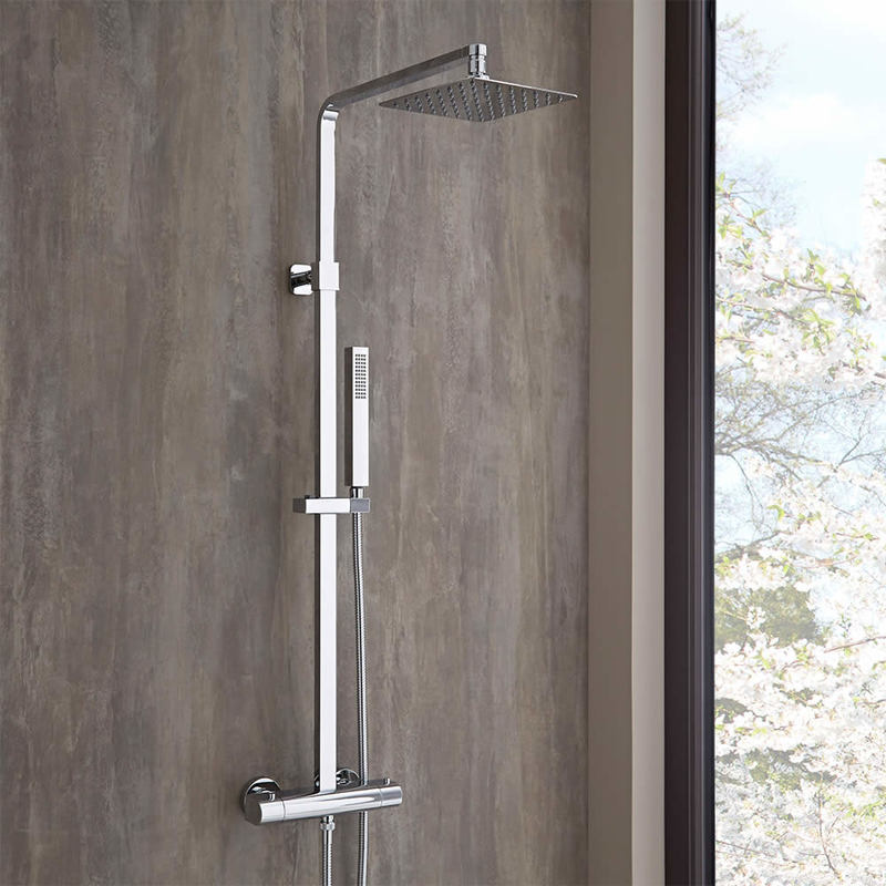 colonne de douche moderne