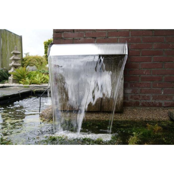 lame d eau bassin
