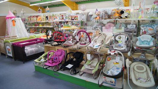 magasin spécialisé bébé