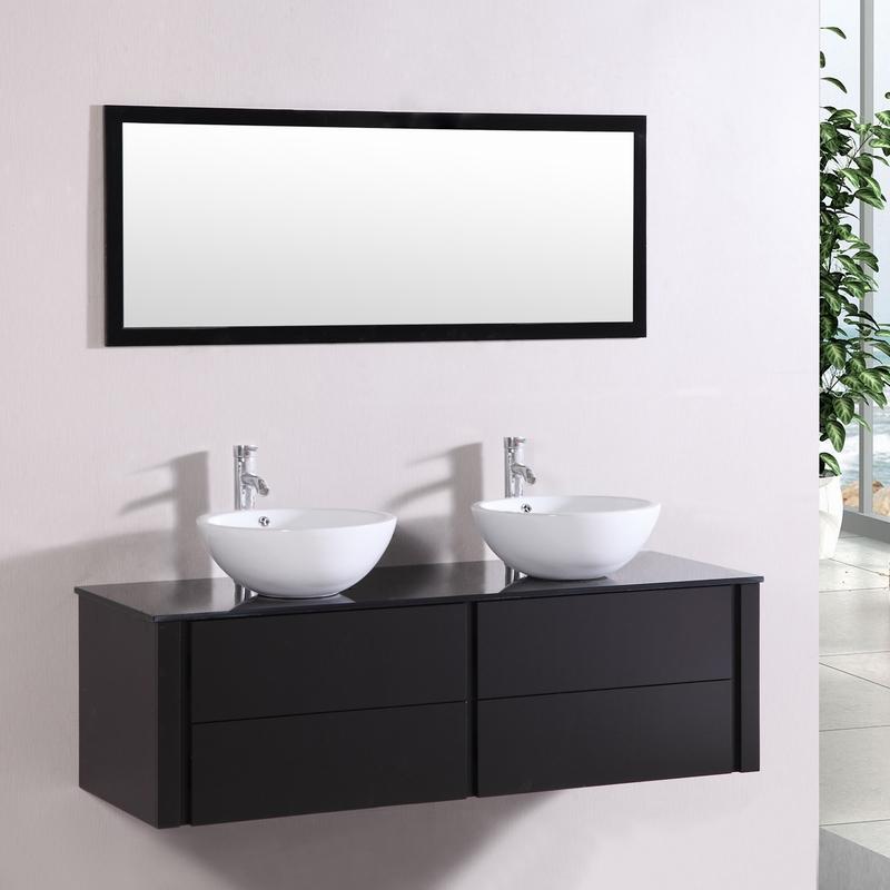 meuble salle de bain 2 vasques