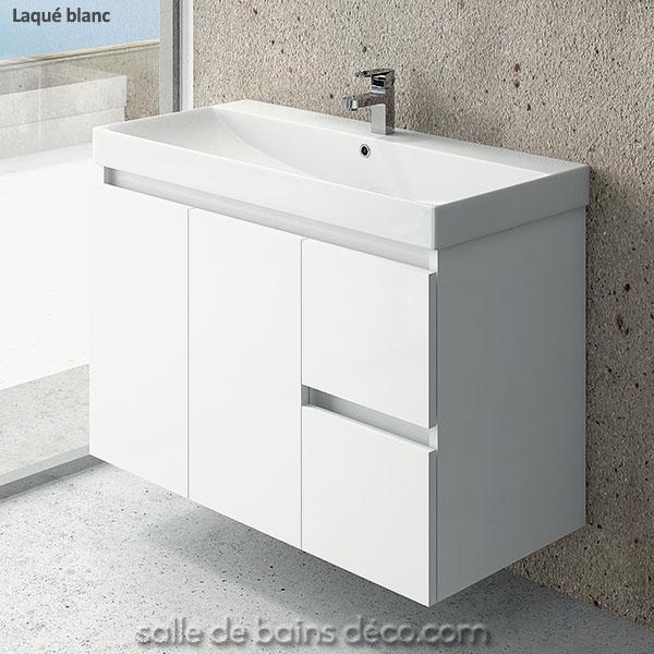 meuble vasque 100 cm