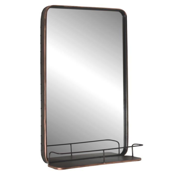 miroir avec tablette