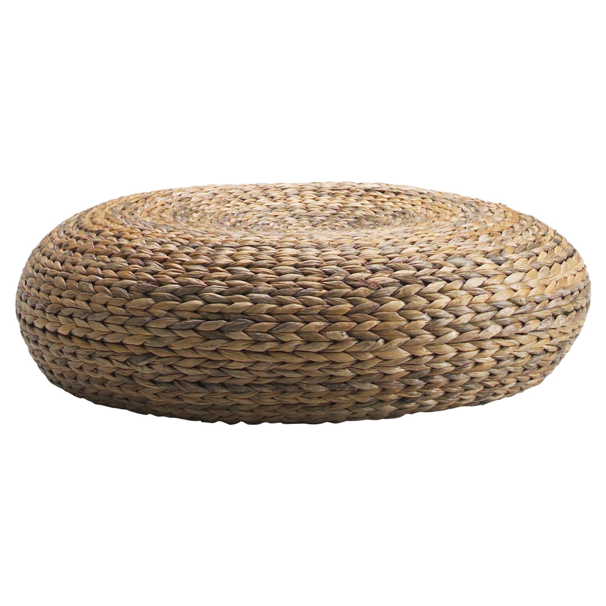 pouf osier