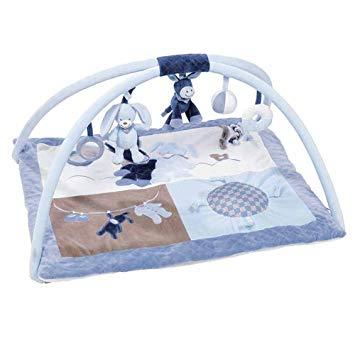 tapis d éveil bleu