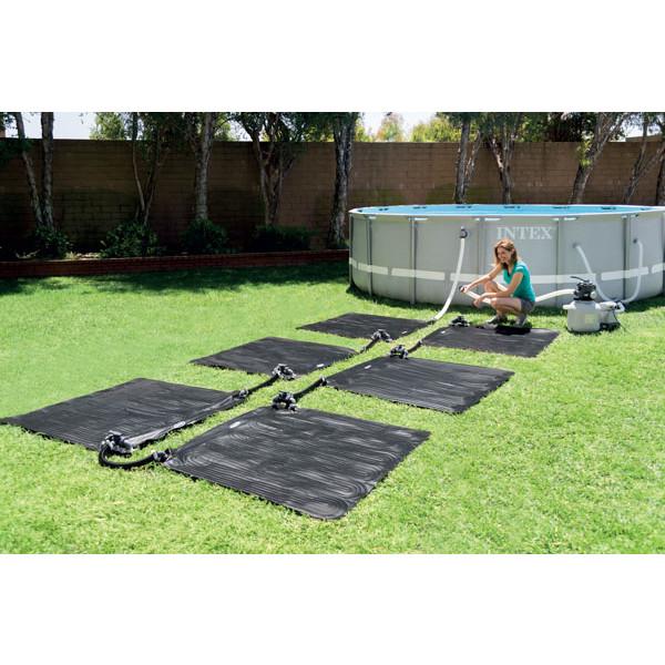 tapis solaire piscine