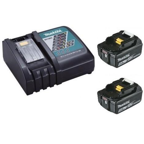 batterie makita 18v chargeur