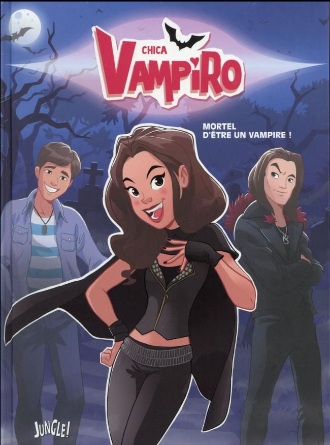 dessin animé chica vampiro