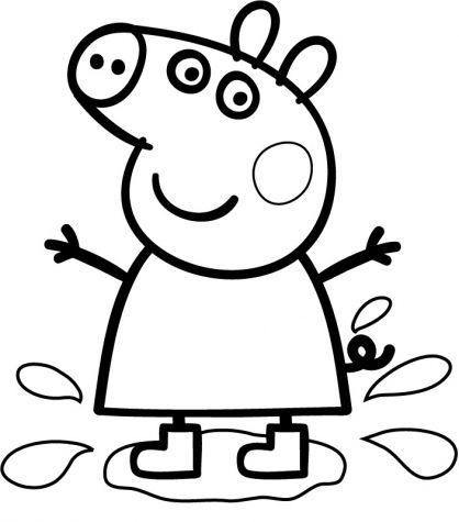 dessin peppa pig