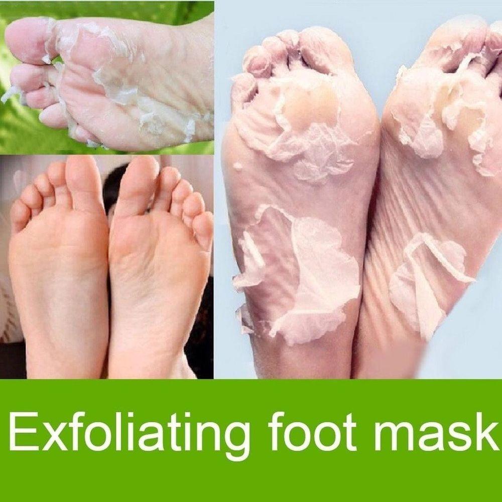 exfoliant pied