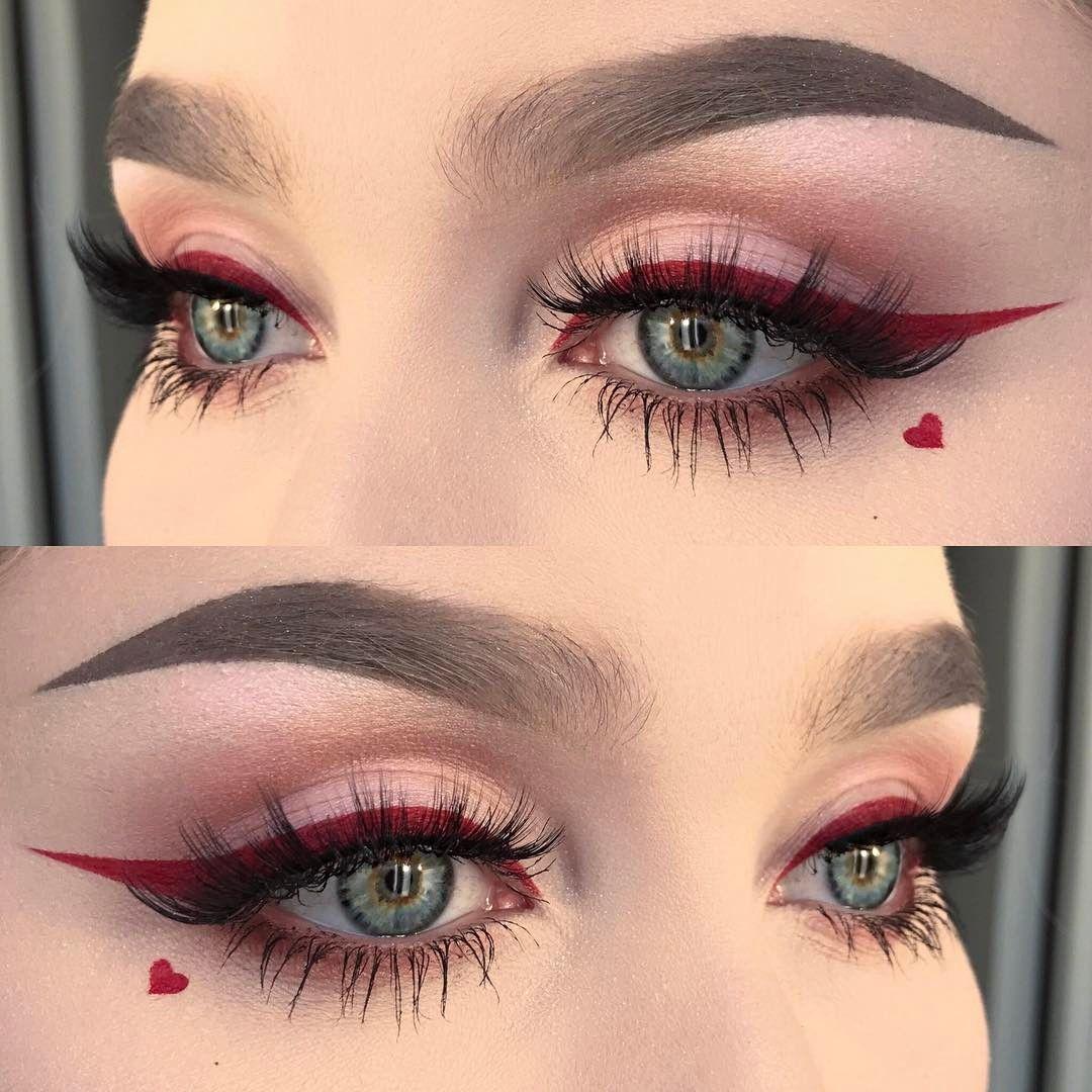 eye liner rouge