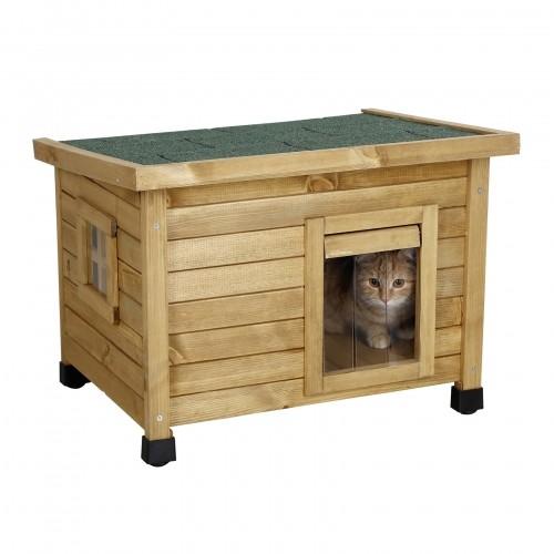 niche extérieure pour chat