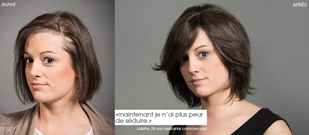 poudre cheveux femme