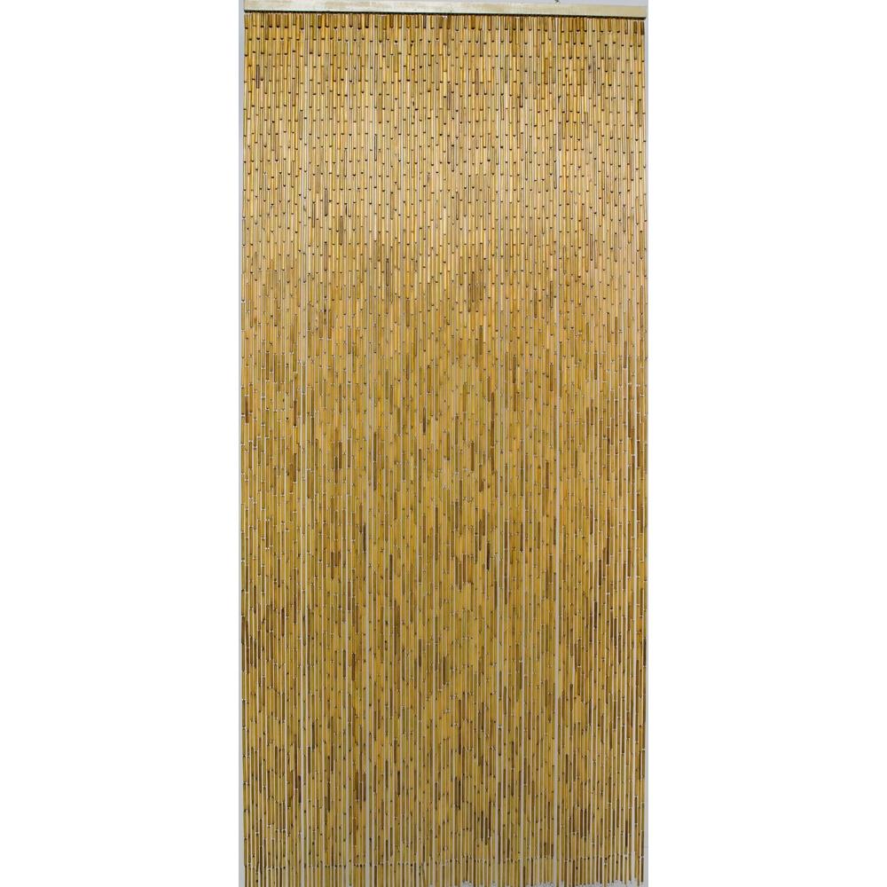 rideau de porte bambou