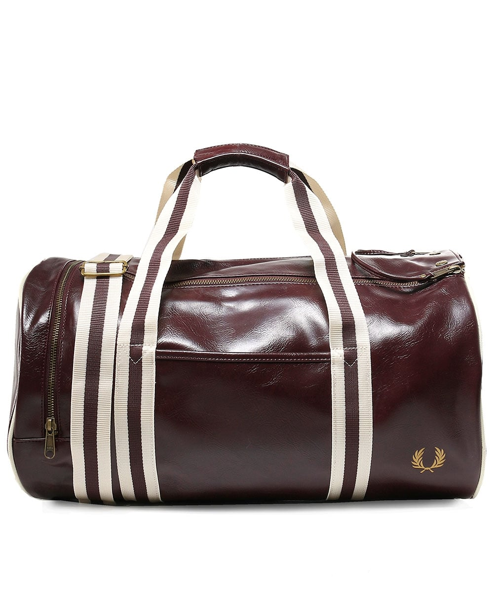 sac fred perry marron