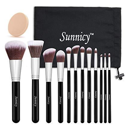 set de pinceaux maquillage