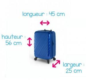 taille sac cabine