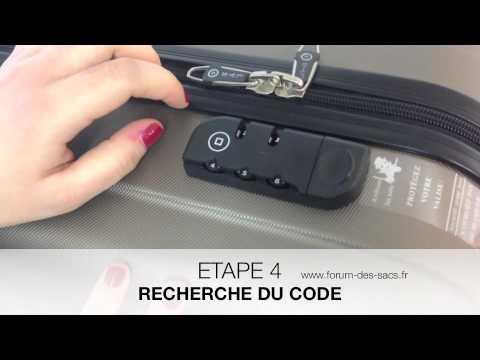 valise code tsa