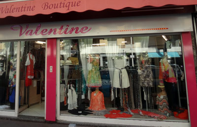 magasin valentine