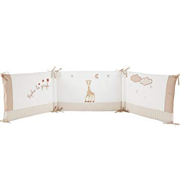 tour de lit sophie la girafe