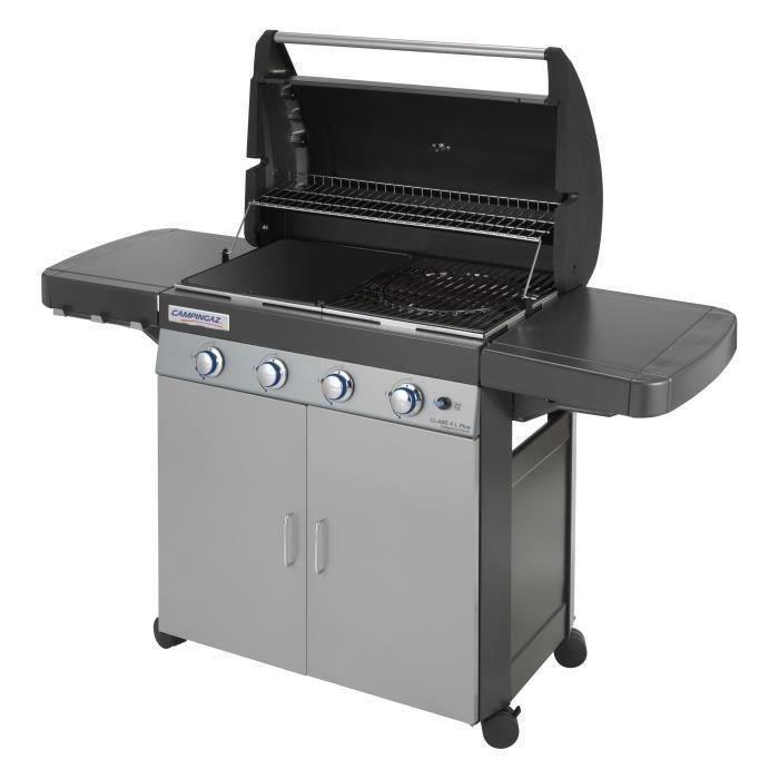 barbecue gaz avec plancha