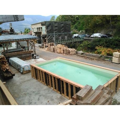 piscine bois enterrée